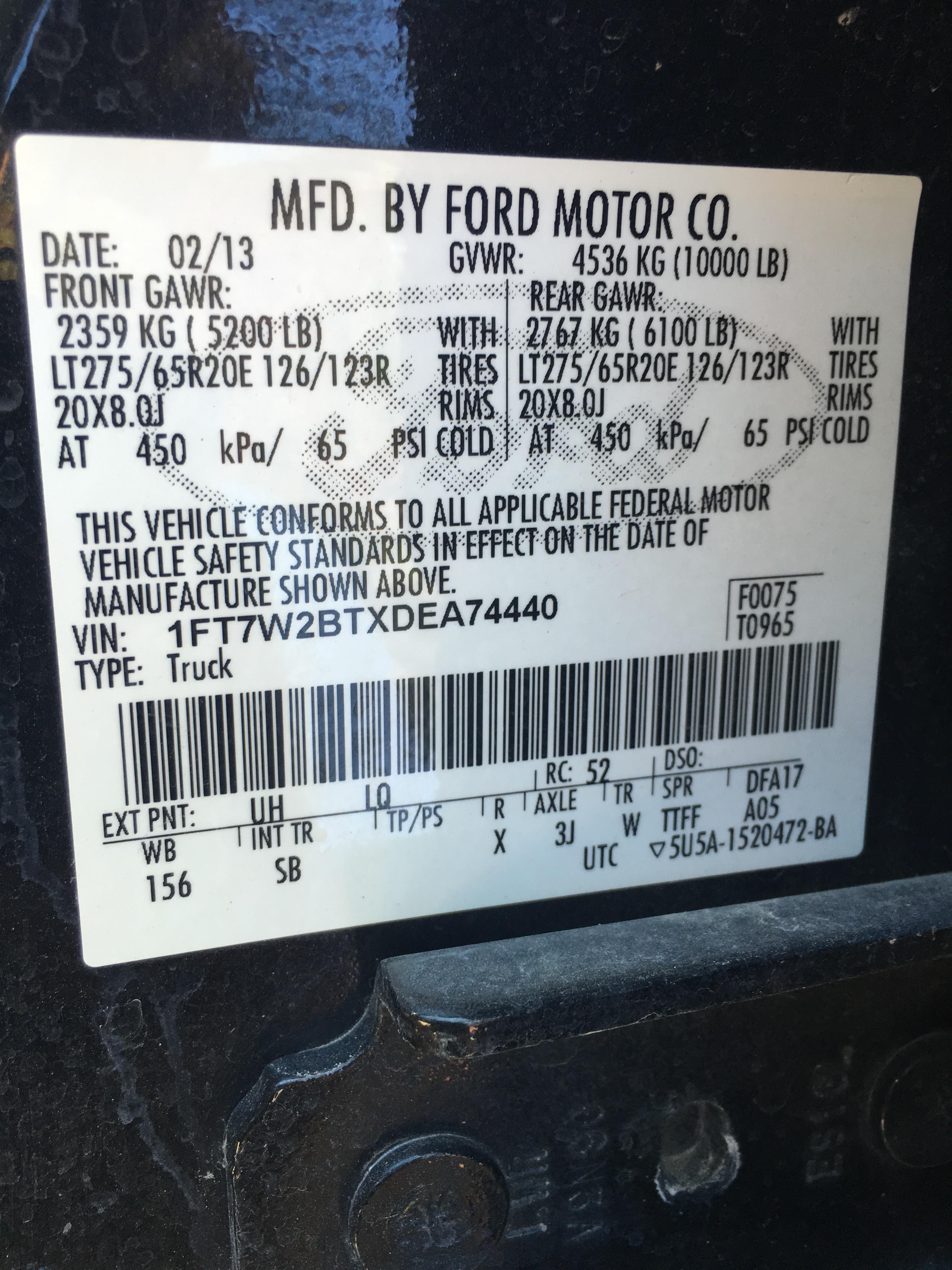 Dodge Ram 1500 Diesel >> How To Find Rear Axle Ratio - Ford Powerstroke Diesel Forum