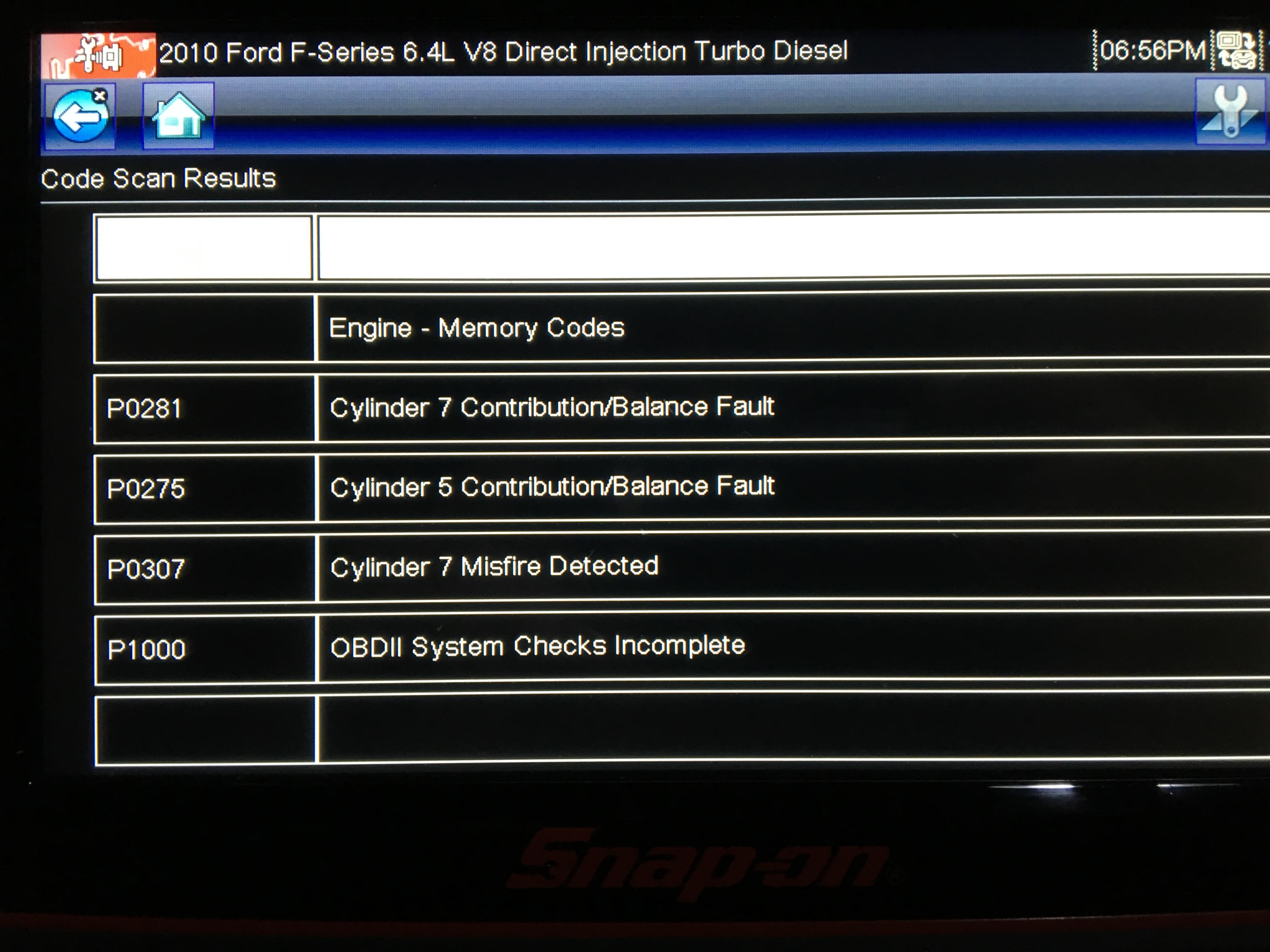 Misfire/ Injectors?? - Ford Powerstroke Diesel Forum
