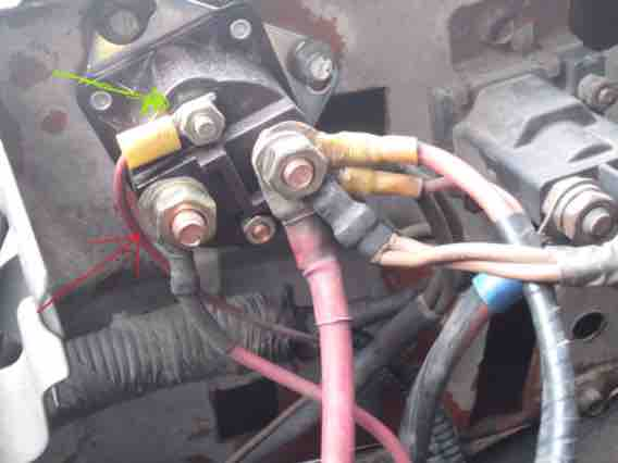 1999 73 Powerstroke STARTER problem        Ford