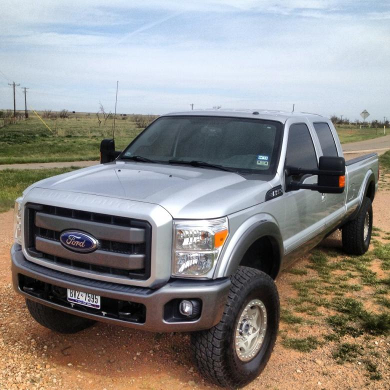 Painted bumpers, grill surround and T-Rex grill installed-imageuploadedbyautoguide1367462000.364026.jpg