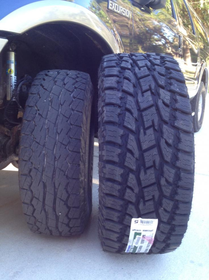 Pics Of My New 35x12 50x20 Toyo At2 Extremes Ford