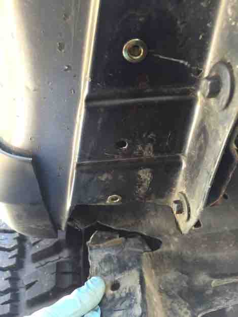 7.3 Powerstroke Specs >> Tire Rub - Inner Fender Mod - Ford Powerstroke Diesel Forum