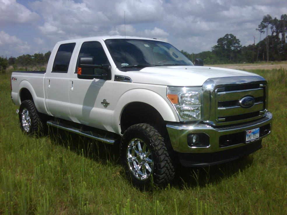 2011 F250 With 4 U0026quot  Bds Lift