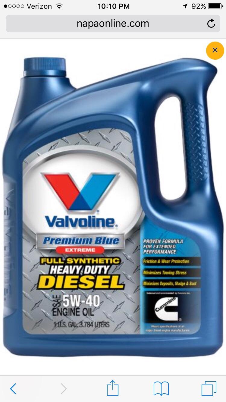 Valvoline full synthetic heavy duty diesel engine oil img_0032 jpg