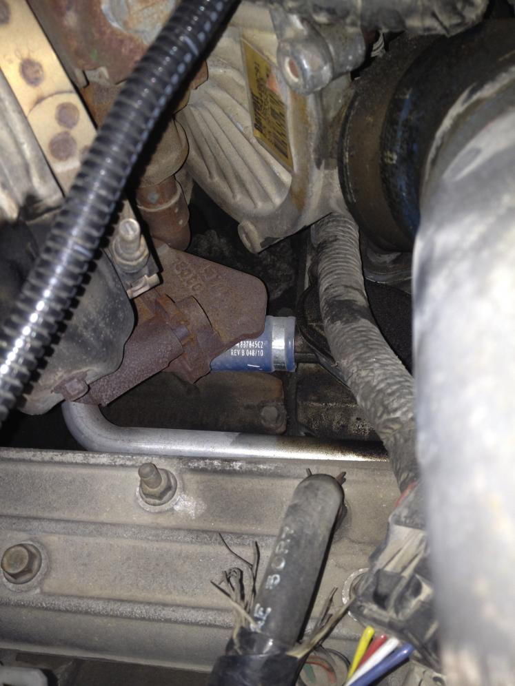 Need help to see if this truck has egr delete! - Ford