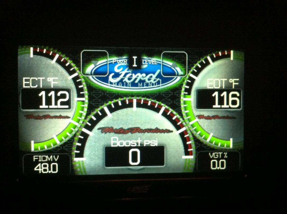edge insight cts backgrounds - Ford Powerstroke Diesel Forum