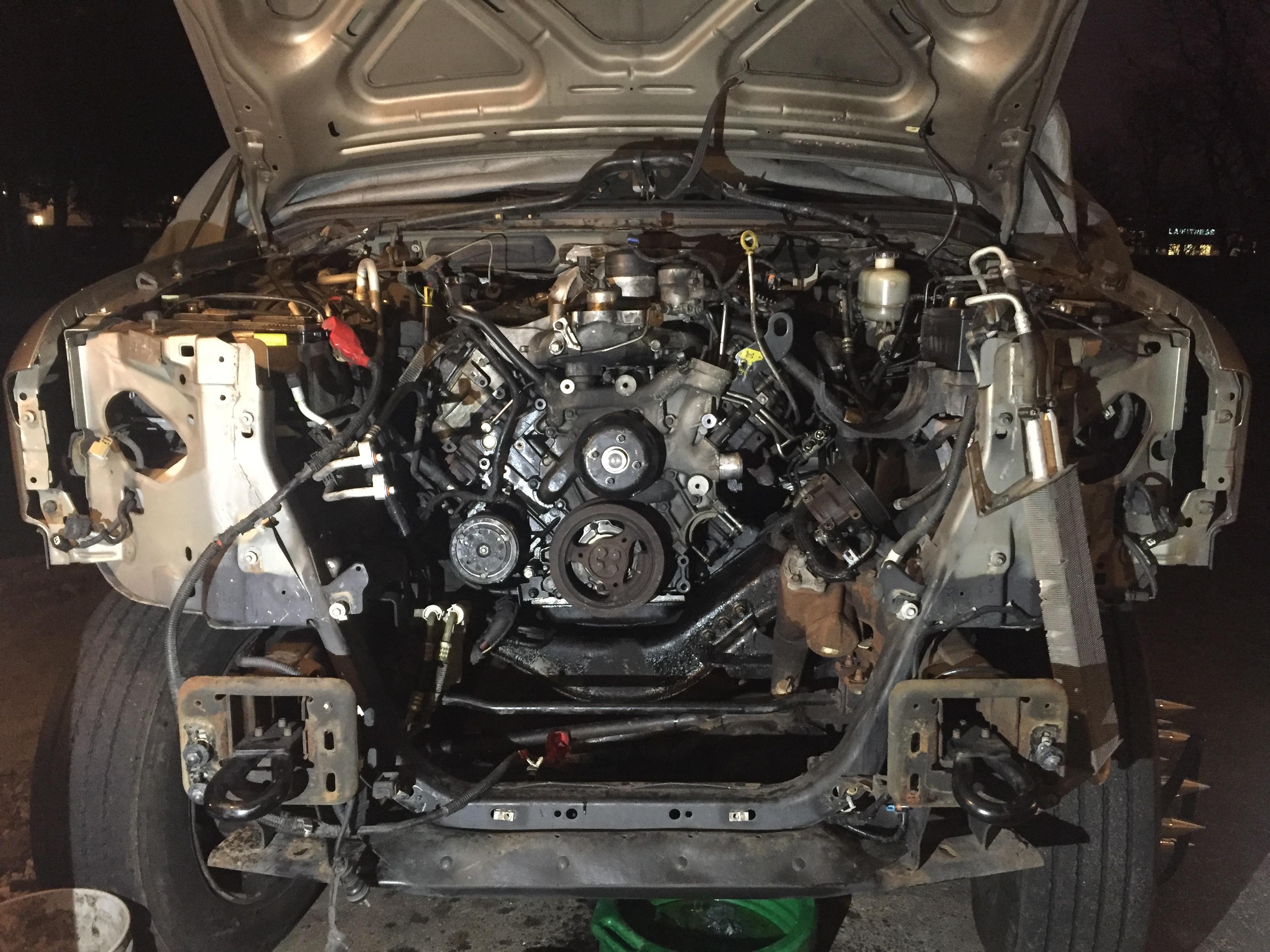 Bed plate leaking???? - Page 3 - Ford Powerstroke Diesel Forum