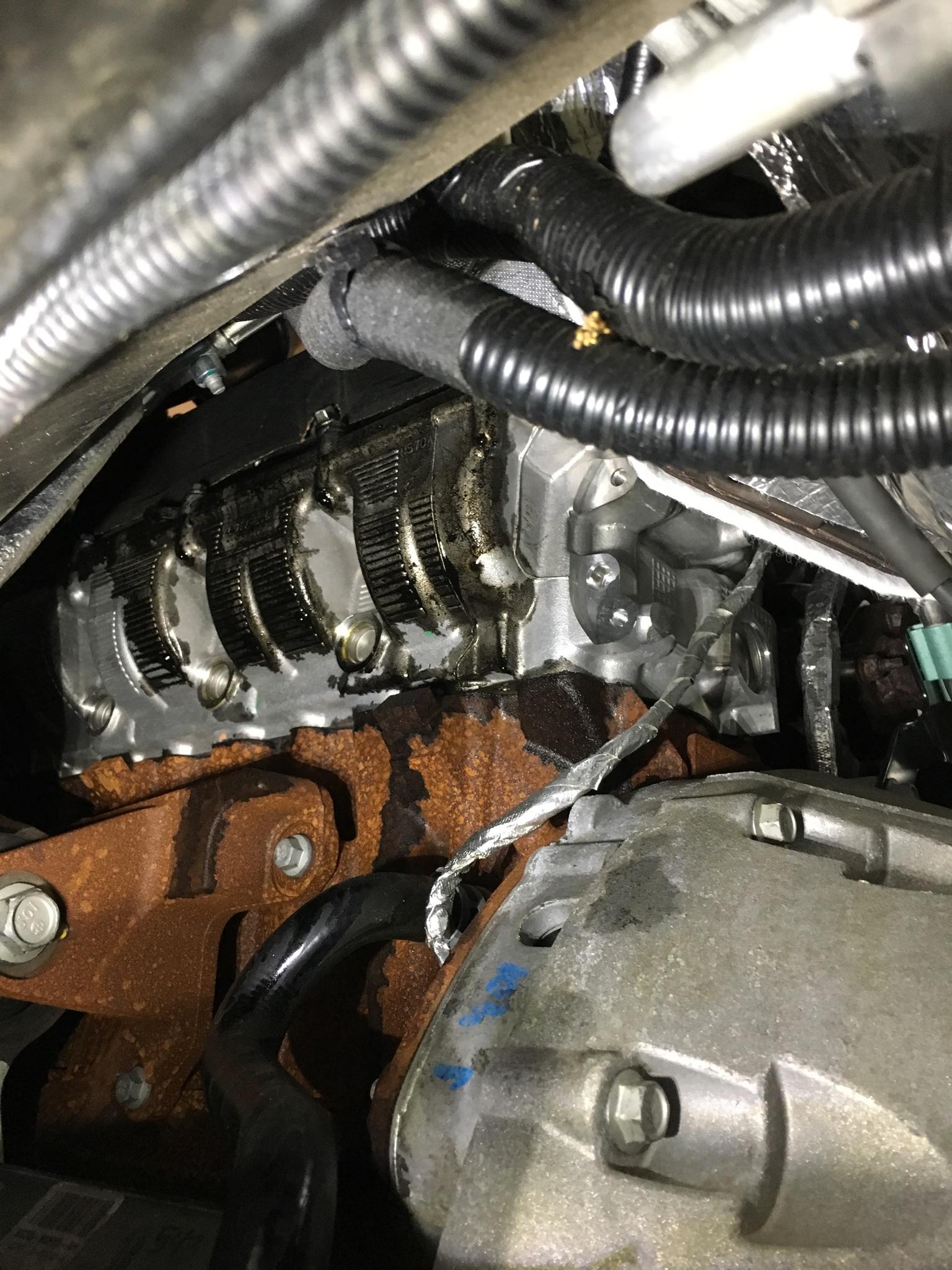 6 7 Powerstroke Problems >> '15 6.7L Oil Leak Driver Side - Ford Powerstroke Diesel Forum