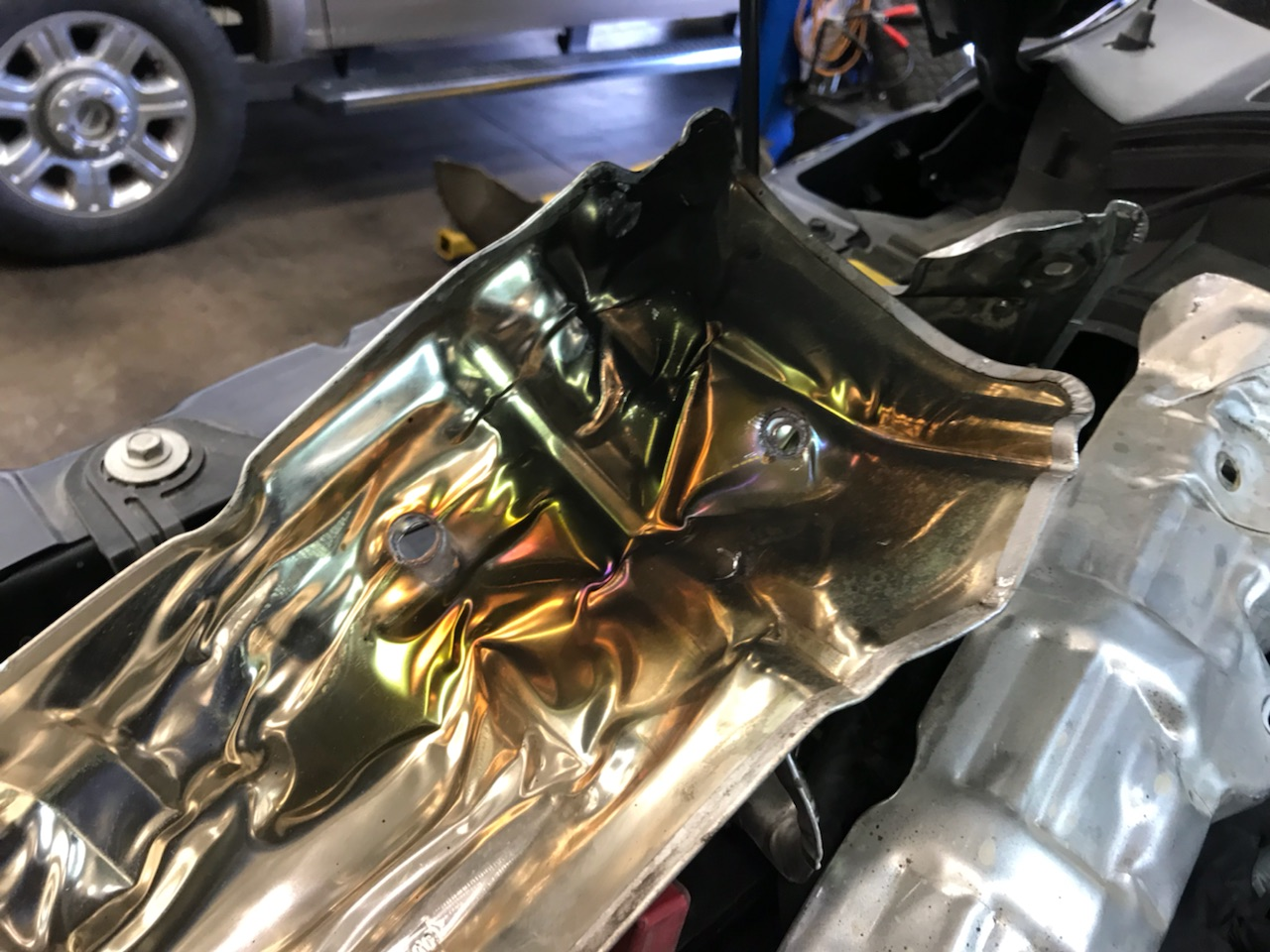 Whine at hot idle - Ford Powerstroke Diesel Forum
