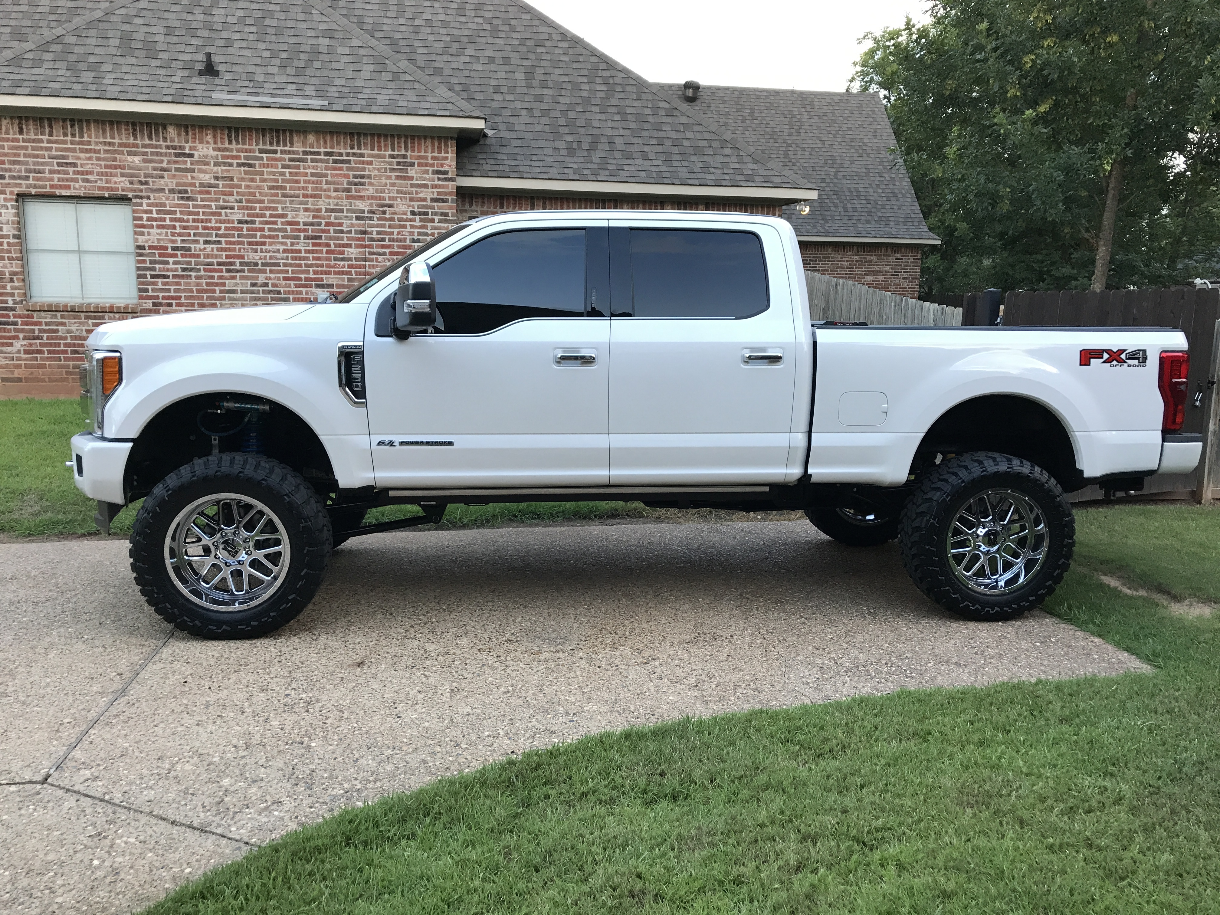 2017 F250 Lifted >> 2017 For F250 Lift Kit 6 Ford Powerstroke Diesel Forum