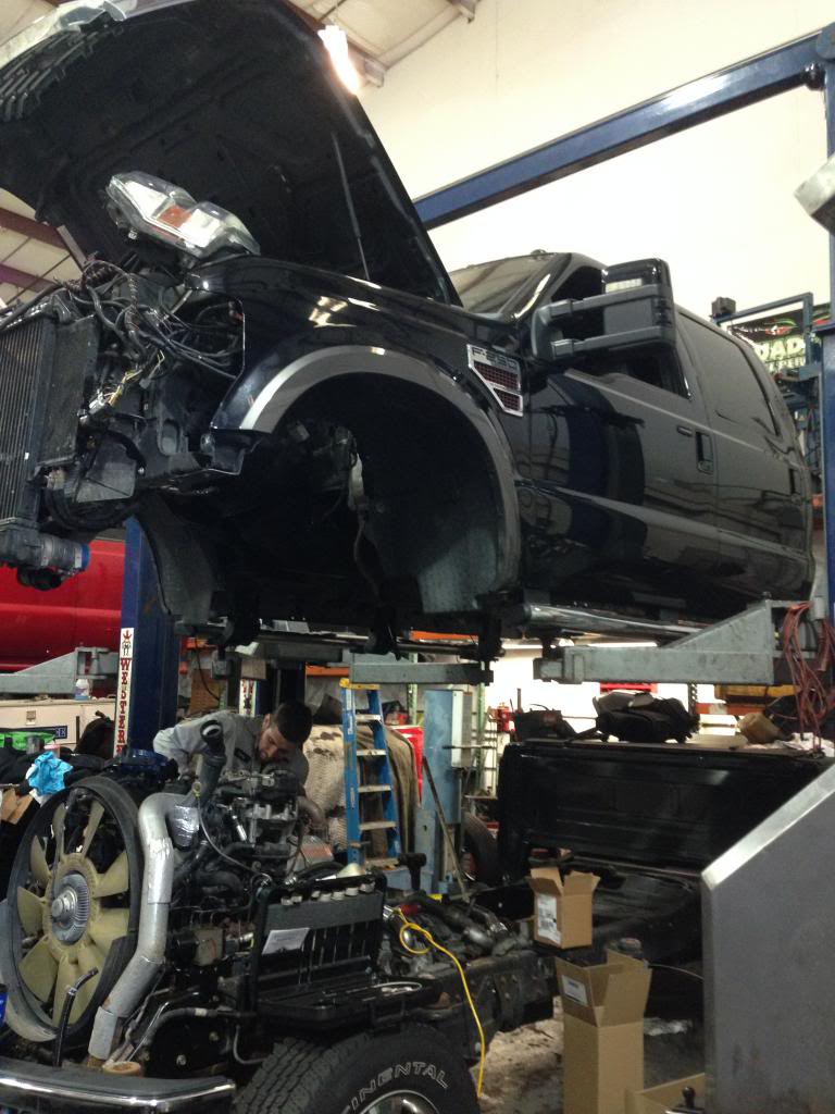 6 7 Powerstroke Problems >> Up-Pipe Replacement on 6.4 - Pics included - Ford ...