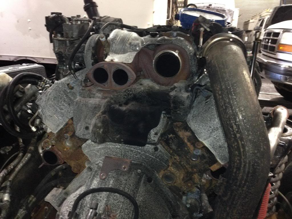 Up-Pipe Replacement on 6.4 - Pics included - Ford ...