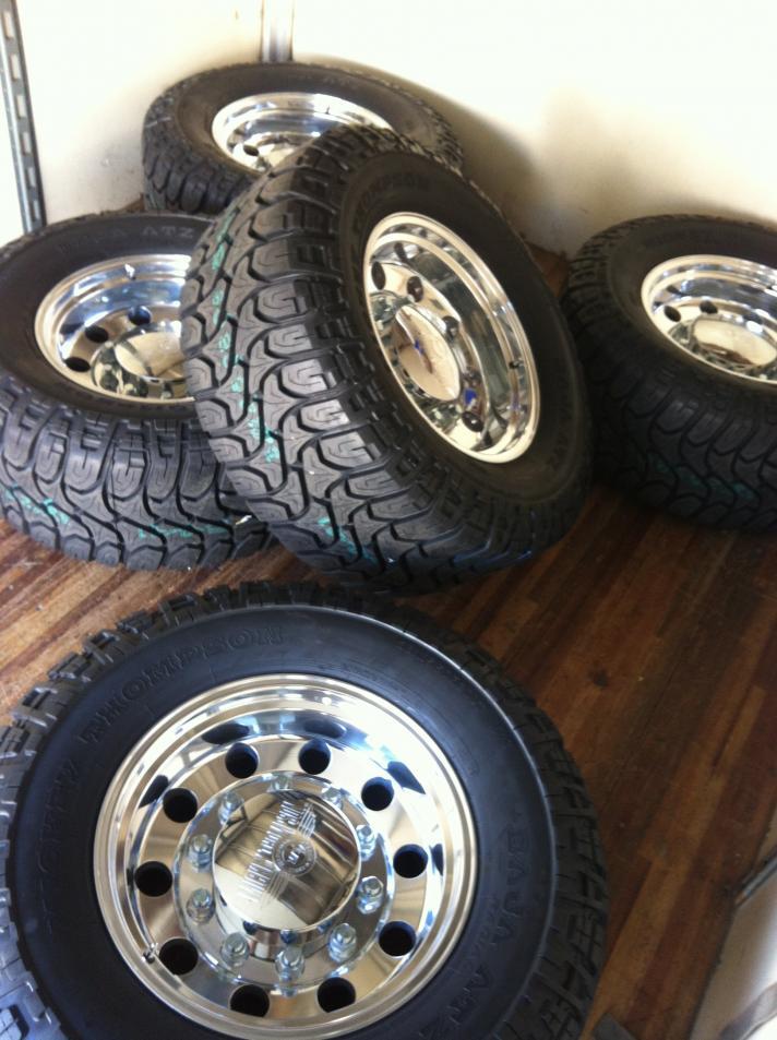 Classic Big Rig Wheels 20 x 10 Big Rig Wheels