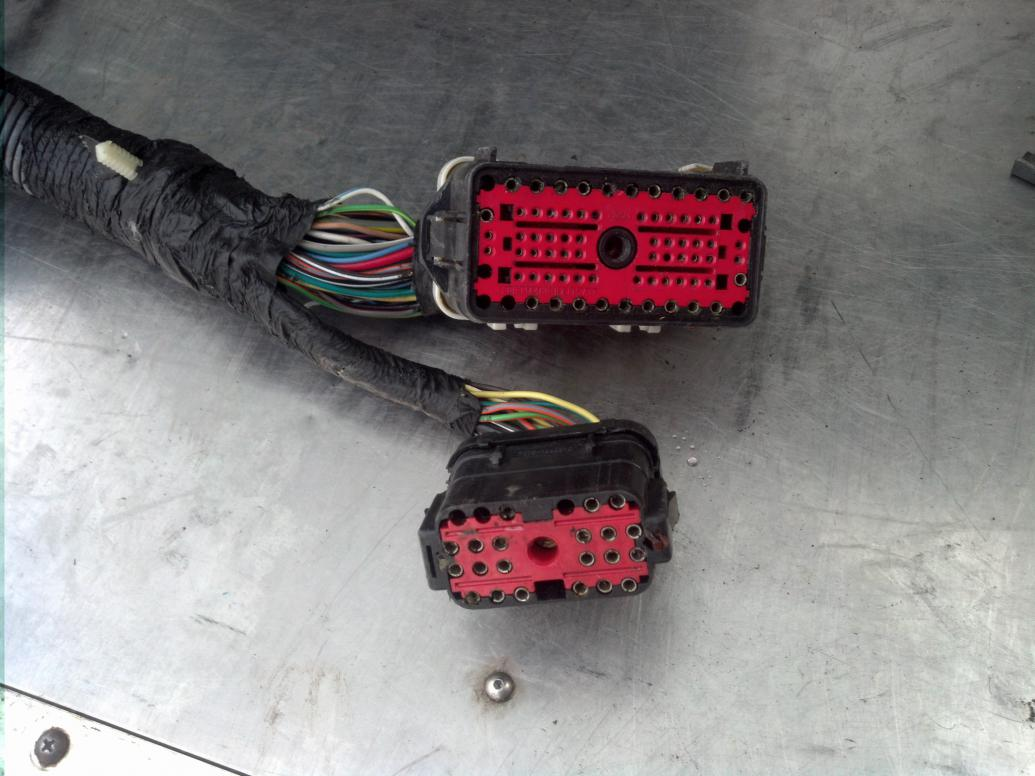 [SCHEMATICS_48ZD]  1994 PSD to 1996 PSD cab wiring harness swap questions   Ford Powerstroke  Diesel Forum   1996 F250 E4od Wiring Harness      Powerstroke.org
