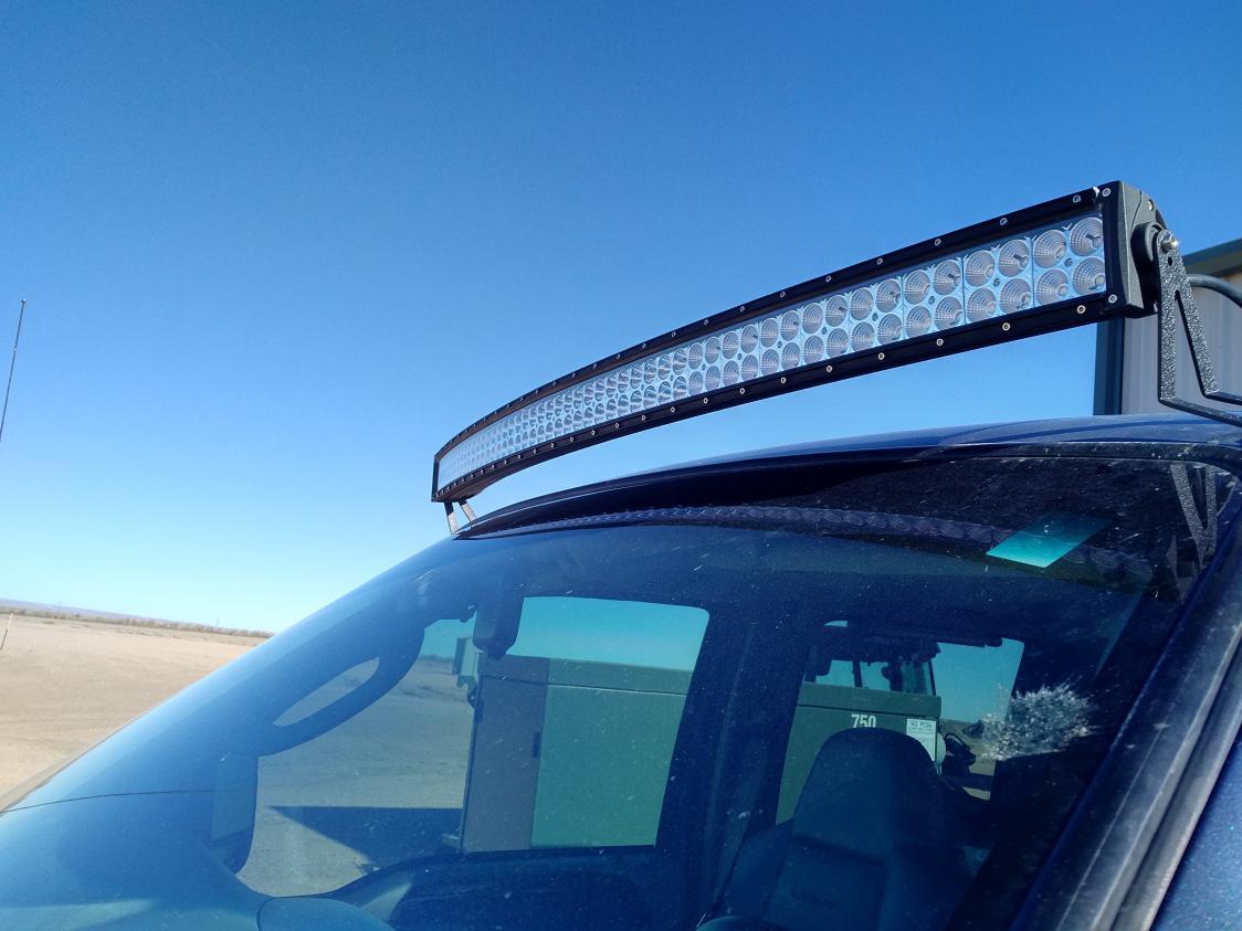 Roof Mount Led Light Bar Help Ford Powerstroke Diesel Forum