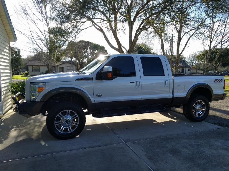 Larger Tires on Stock Wheels? - Ford Powerstroke Diesel Forum