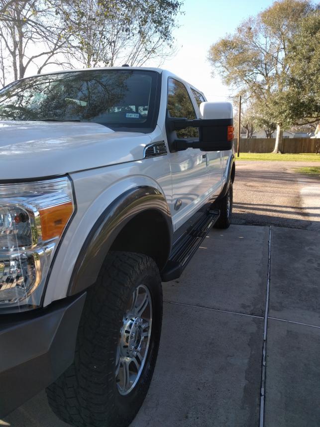 6.7 Powerstroke Problems >> Larger Tires on Stock Wheels? - Ford Powerstroke Diesel Forum