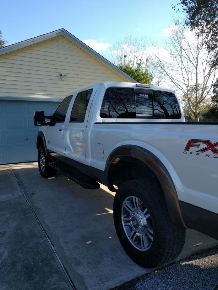 Larger Tires on Stock Wheels? - Ford Powerstroke Diesel Forum