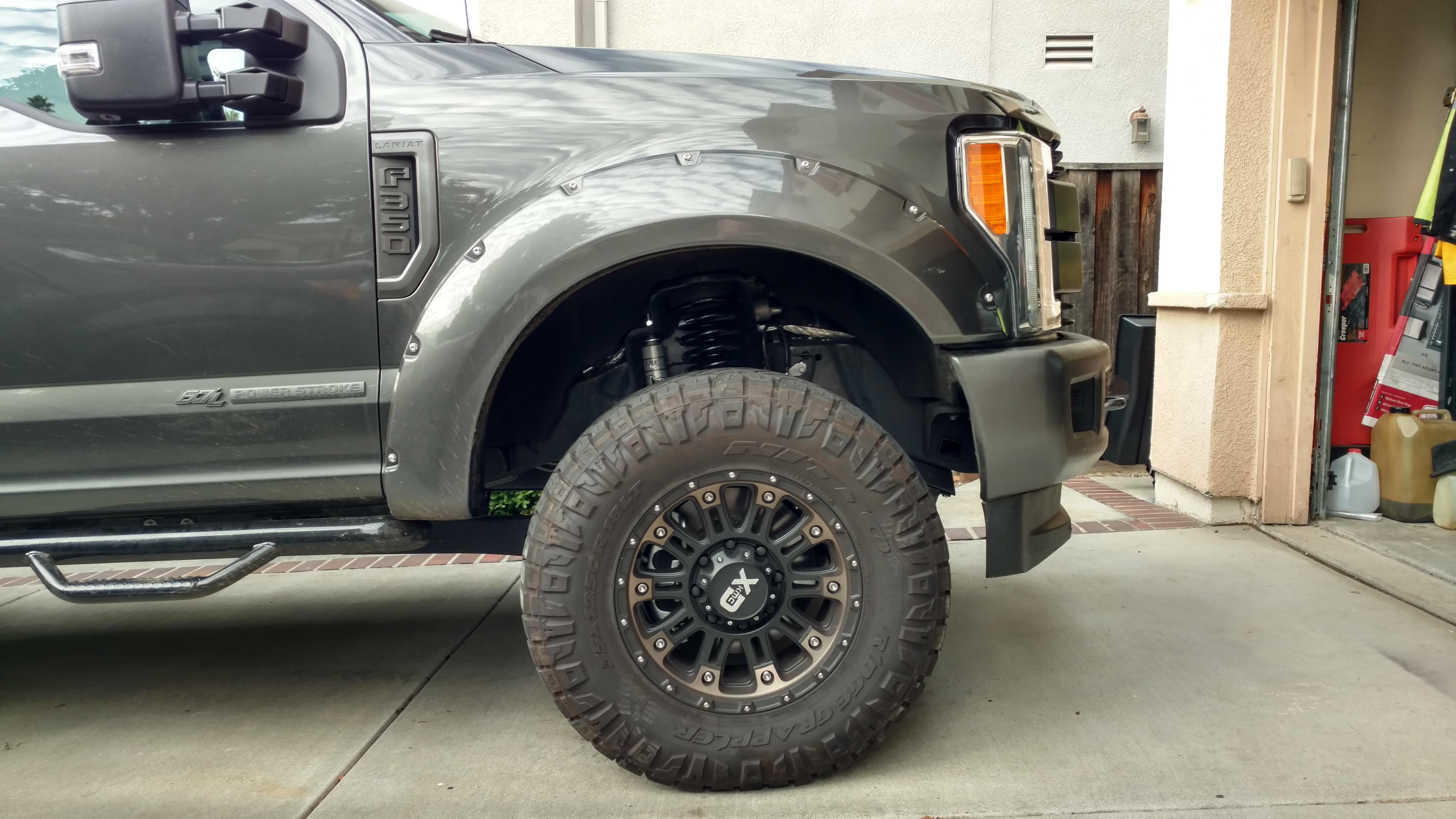 Carli Commuter 2 0 Leveling Kit Ford Powerstroke Diesel Forum