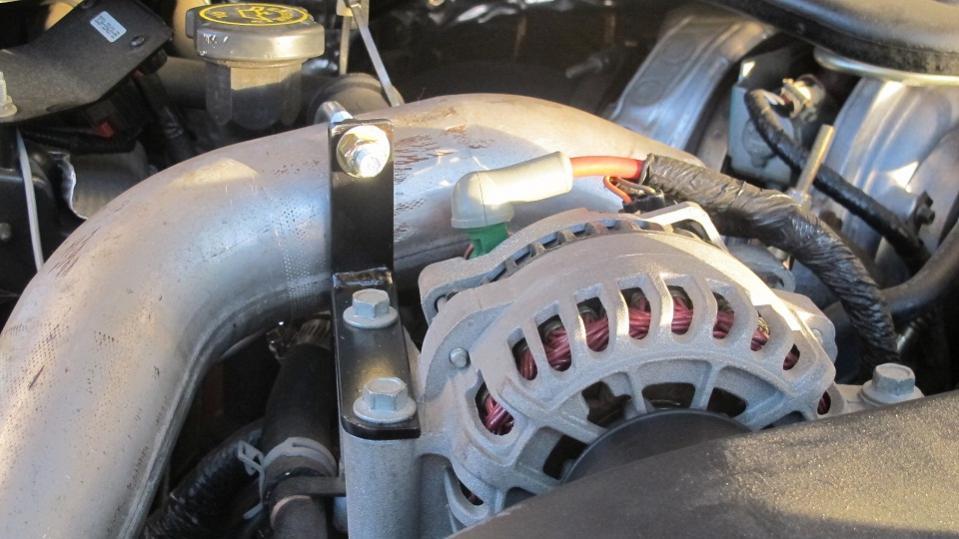 Ford 6.0 Diesel >> CAC Bracket - Ford Powerstroke Diesel Forum