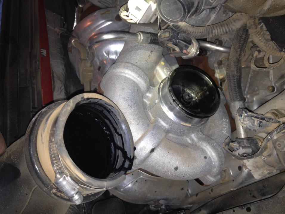 White Smoke From Exhaust >> 6.4 white smoke HELP!!!! - Ford Powerstroke Diesel Forum