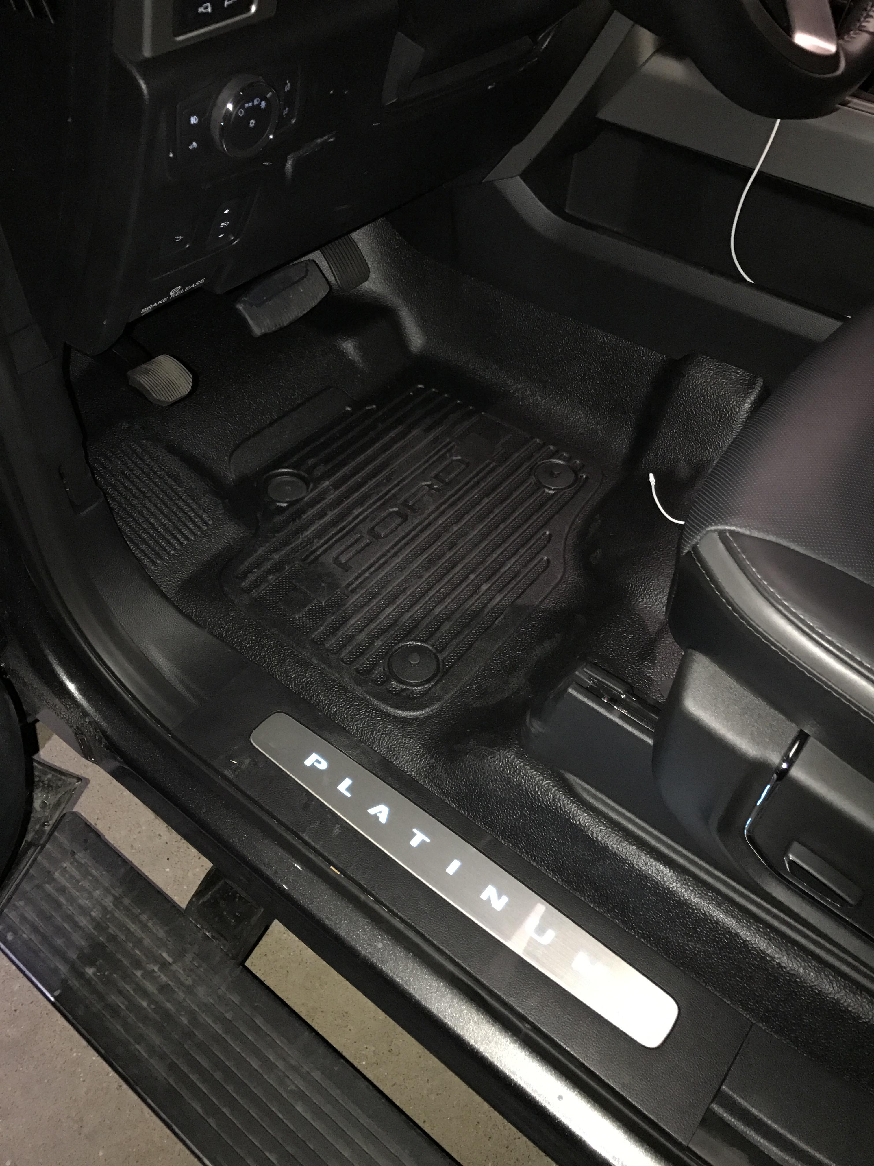 2017 Super Duty Floor Liner Options Page 3 Ford
