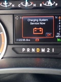"""6.7 Powerstroke Problems >> """"Charging System Service Now"""" message coming on - Ford Powerstroke Diesel Forum"""