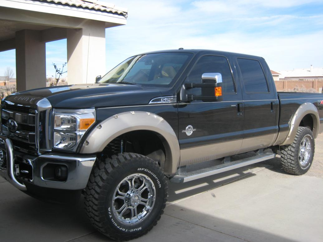 My New F250 2011 With Upgrades
