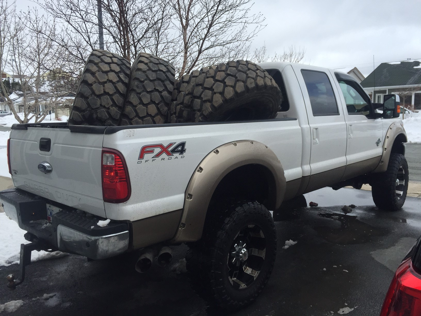"""Ford Excursion 2015 >> 06' F350 Rebuild on 47"""" Military Tires - Ford Powerstroke Diesel Forum"""