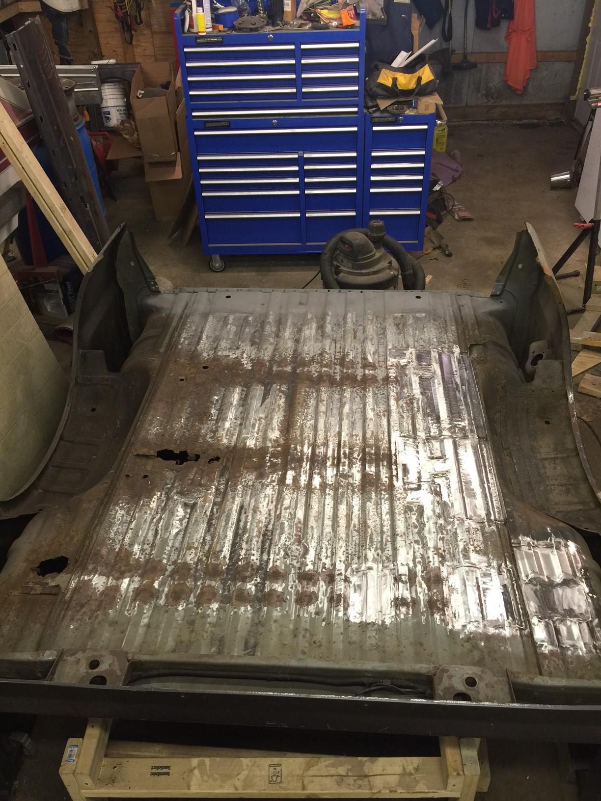 Bed Floor Rust Repair - Ford Powerstroke Diesel Forum