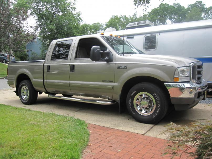 F350 2wd leveling kit before and after pics - Ford Powerstroke Diesel