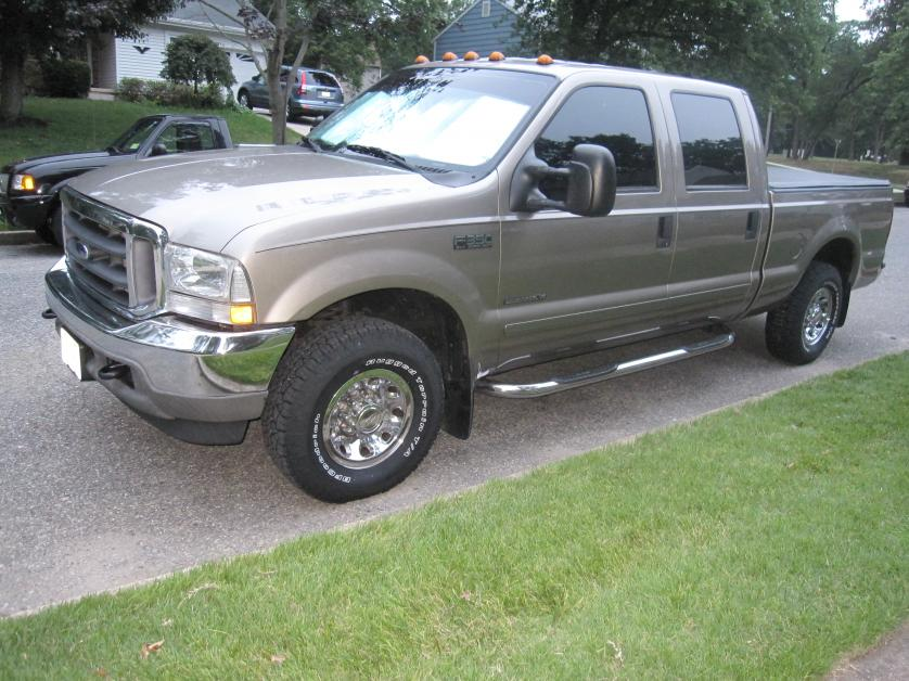 F350 2wd leveling kit before and after pics - Ford ...