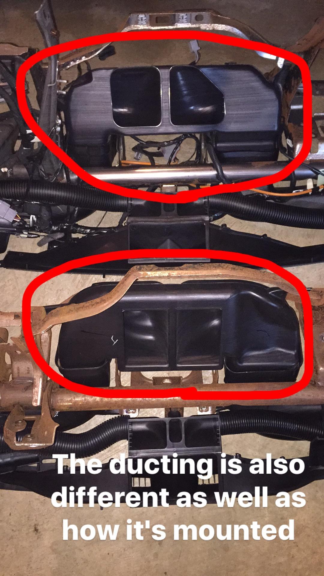 08-16 Dash swap in my E99 7 3 - Ford Powerstroke Diesel Forum