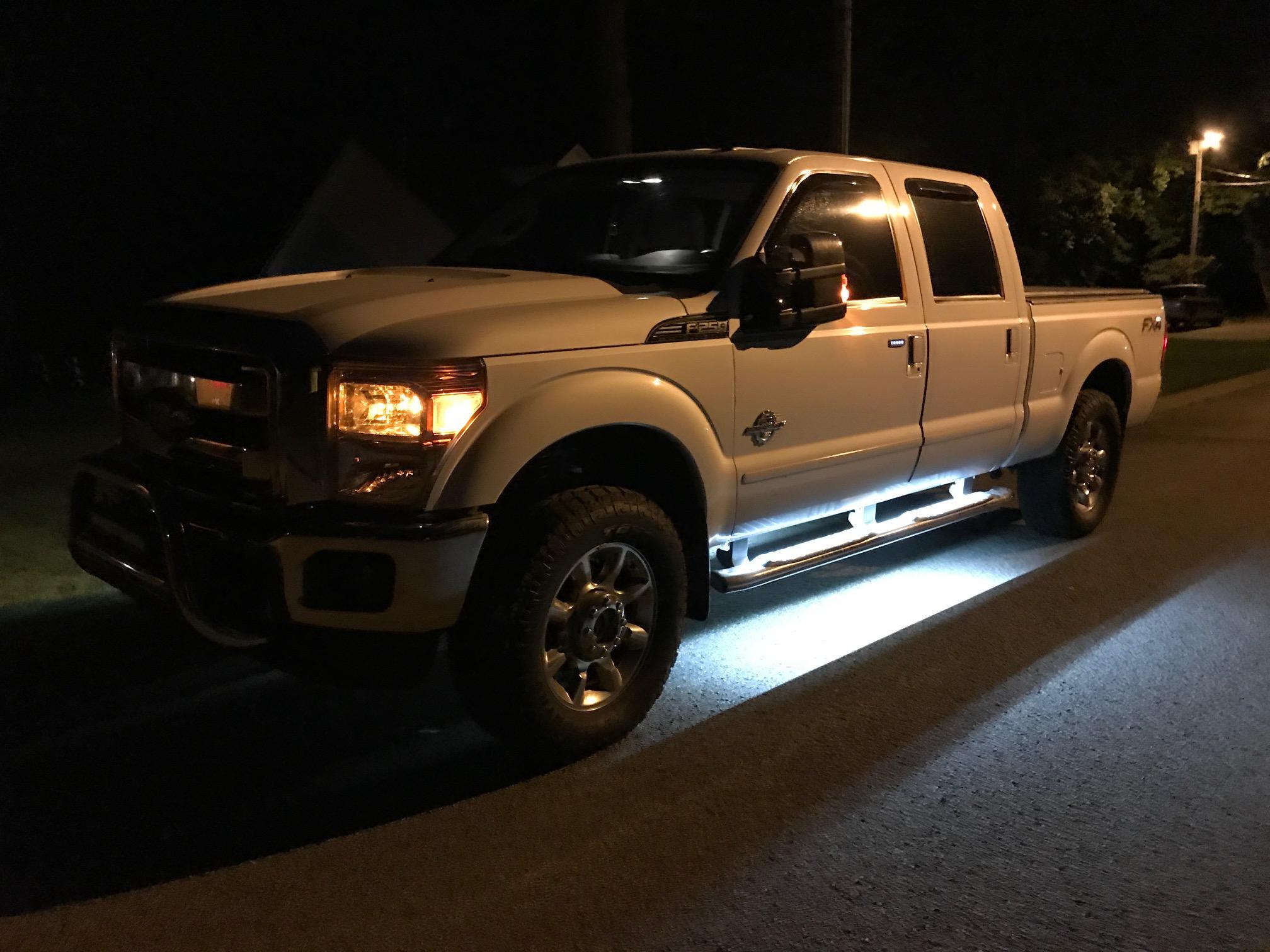 2016 Ford Trucks >> LED Light Running Boards - Ford Powerstroke Diesel Forum