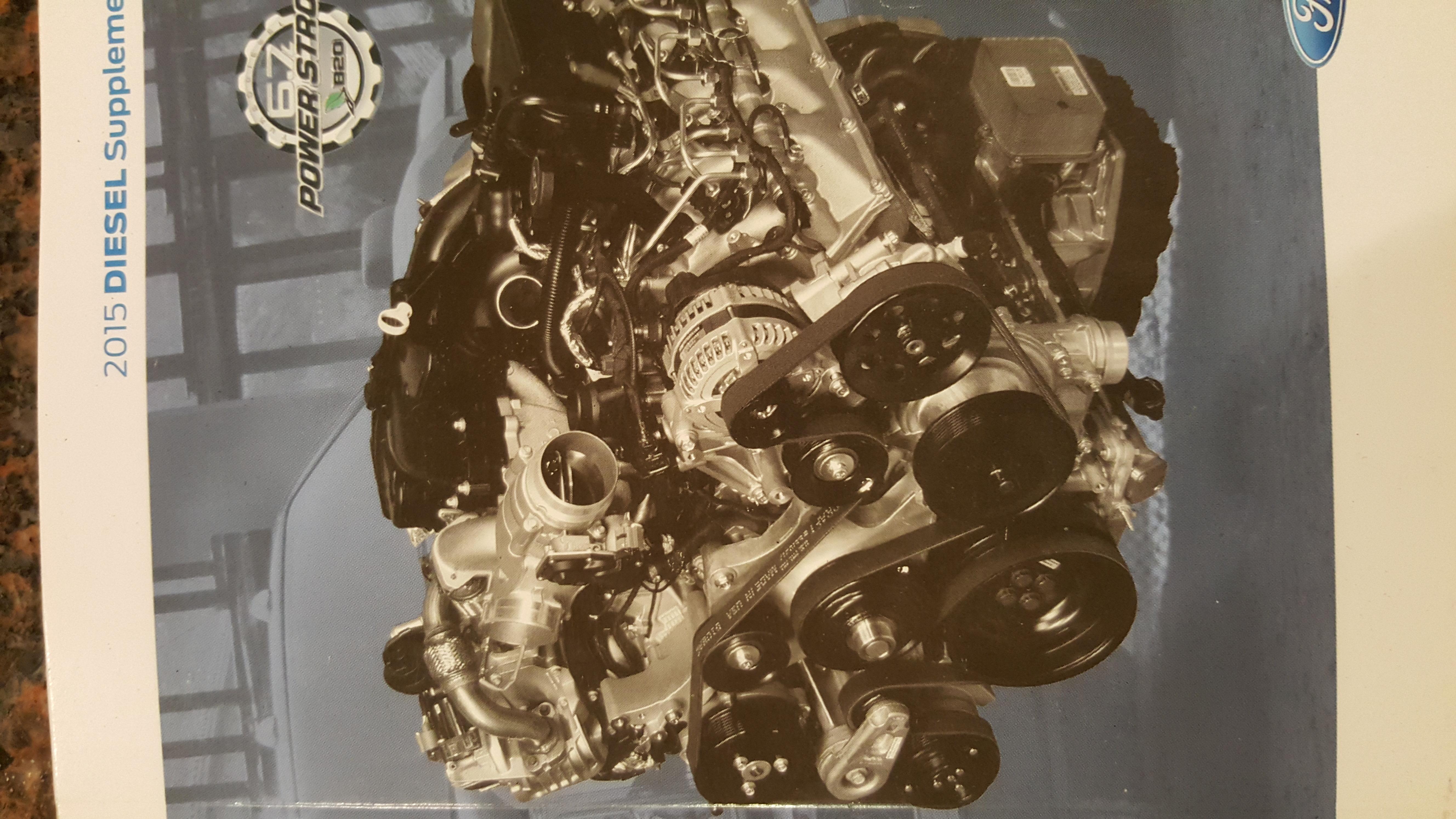 2015 F350 6 7 Diesel Serpentine Belt Replacement   How I