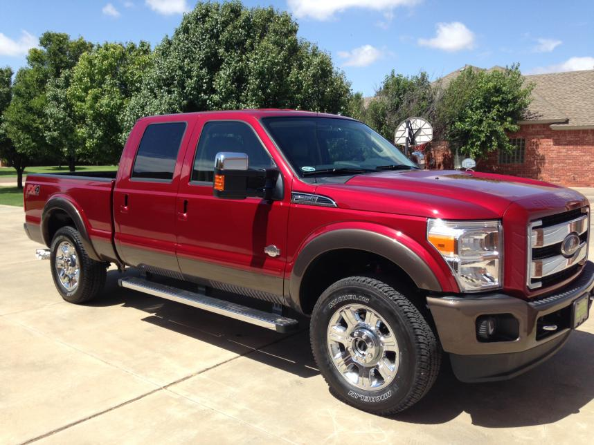 2015 Super Duty King Ranch Gasser Almost Ford Powerstroke