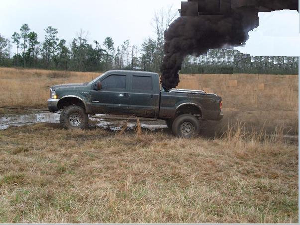 ford diesel tru... Lifted Duramax Diesel Blowing Smoke