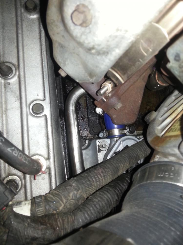 Leaking A Clear Fluid Ford Powerstroke Diesel Forum