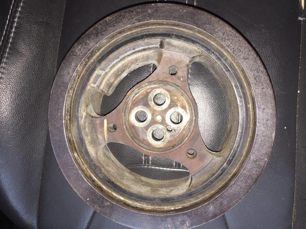 Ford 6.0 Problems >> Harmonic Balancer out of alignment with pulleys toward radiator - Ford Powerstroke Diesel Forum
