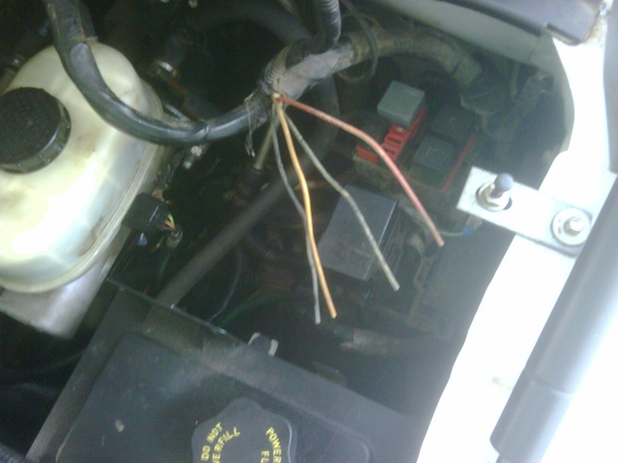 Mystery Cut Wires 2004 Ford 6 0 Help