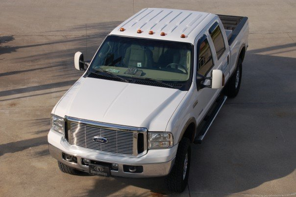 Cab Clearance Lights Installed Ford Powerstroke Diesel