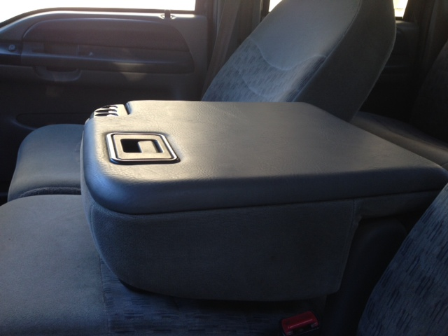 Reupholstering Center Console Lid Project Ford