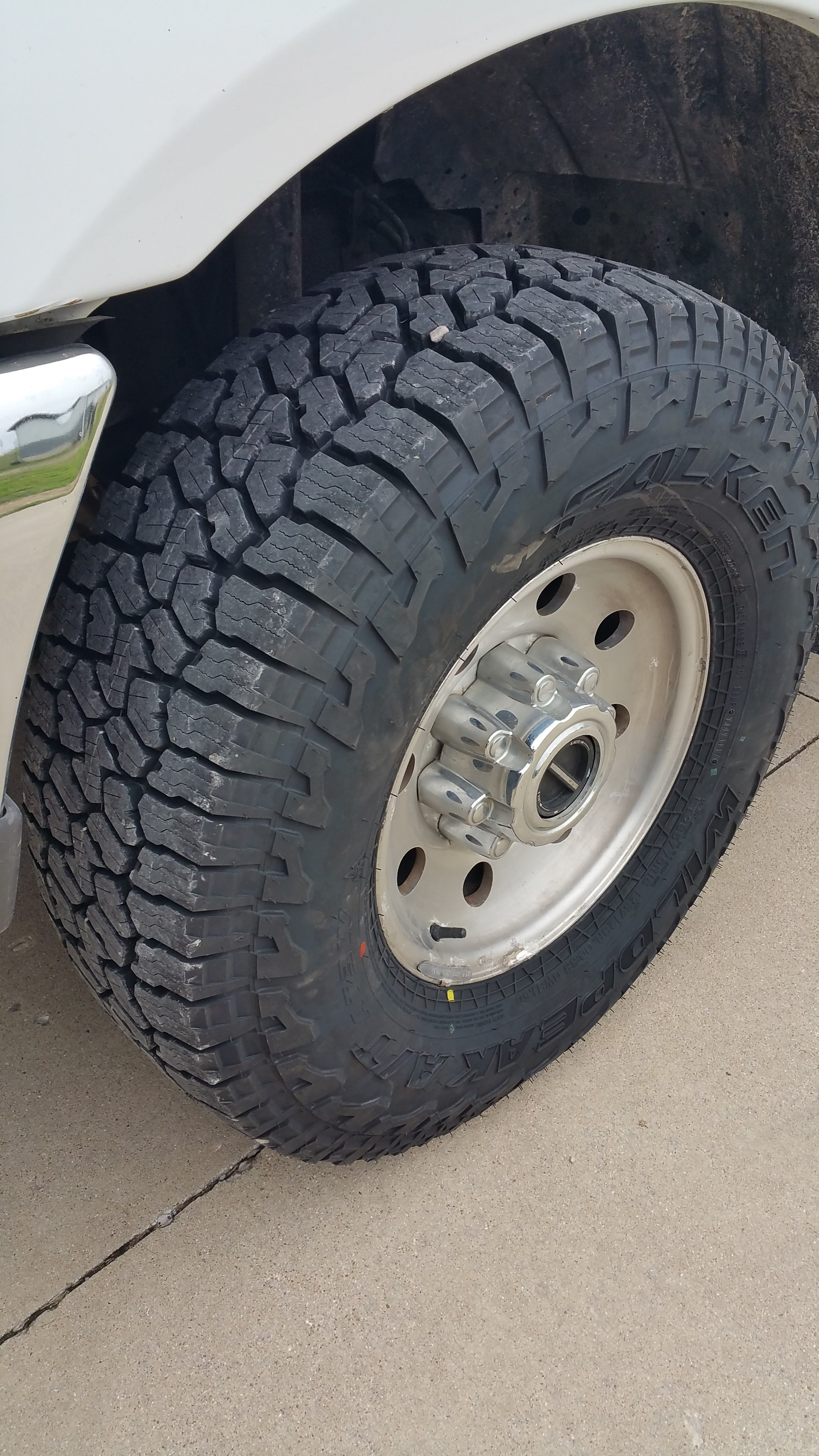What Size Are My Tires >> Falken Wildpeak AT3W Tires - Ford Powerstroke Diesel Forum