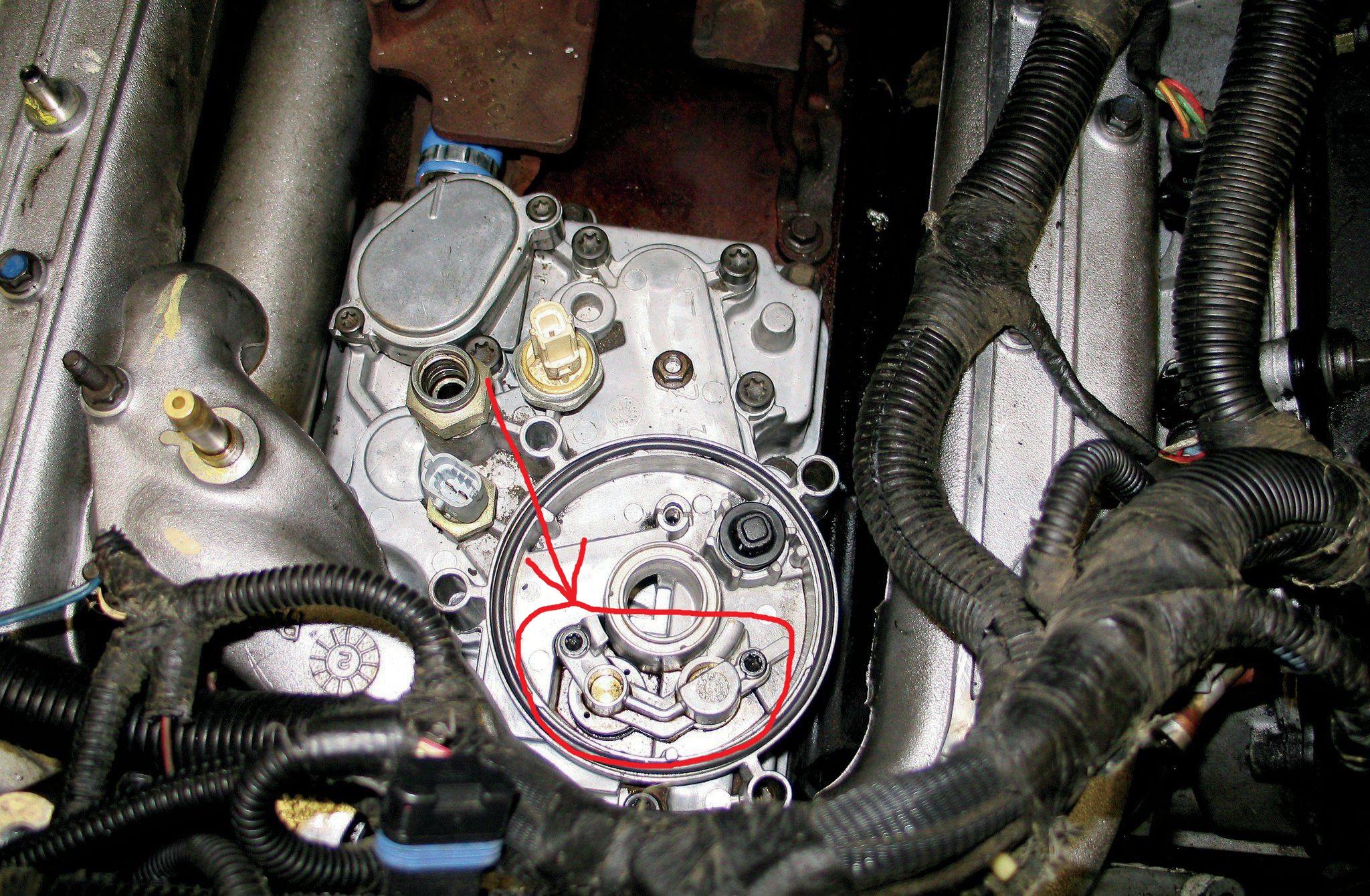 Oil Draining From Filter Ford Powerstroke Diesel Forum