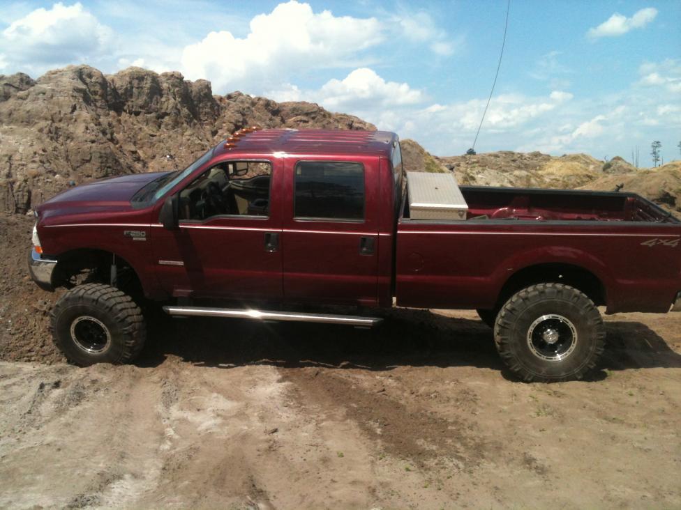 "4"" or 6"" lift for 37"" tires? - Ford Powerstroke Diesel Forum"
