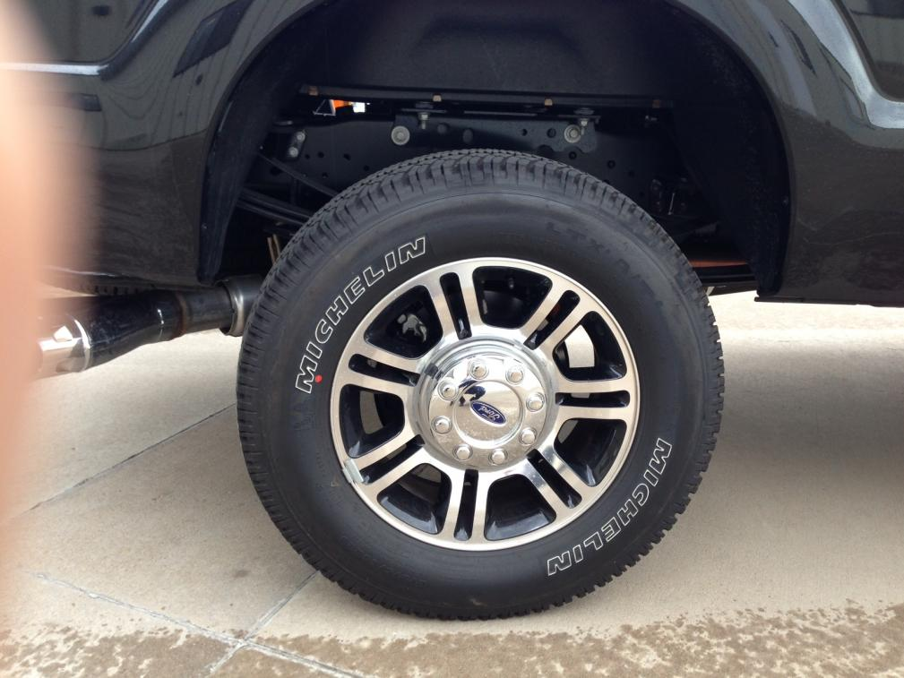 F350 Platinum Wheels Tires Need Help Ford Powerstroke