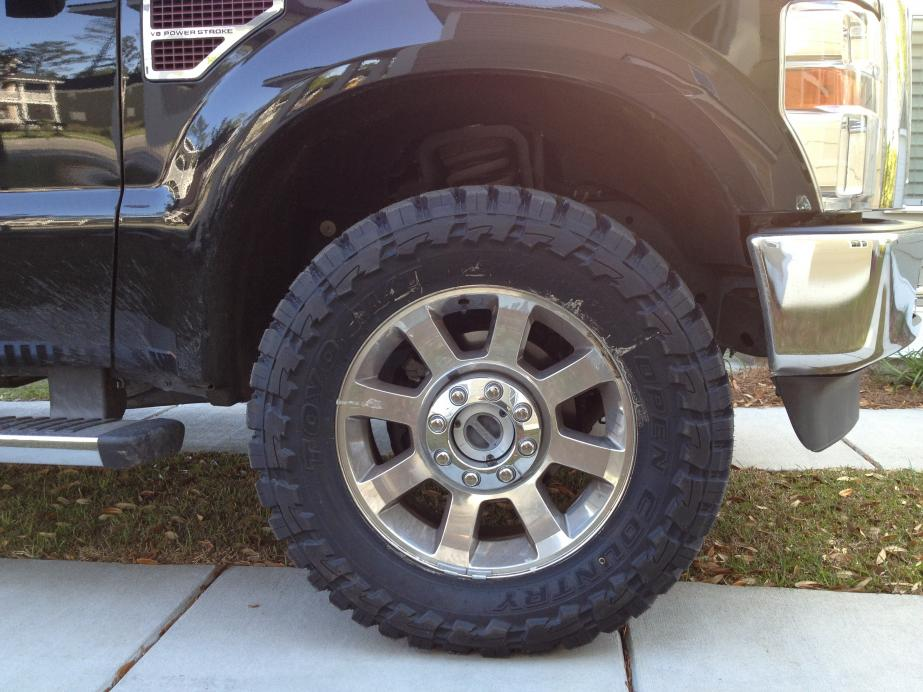 "NEW TIRES--STOCK HEIGHT--35"" 12.5 R20 TOYO MT - Ford ..."