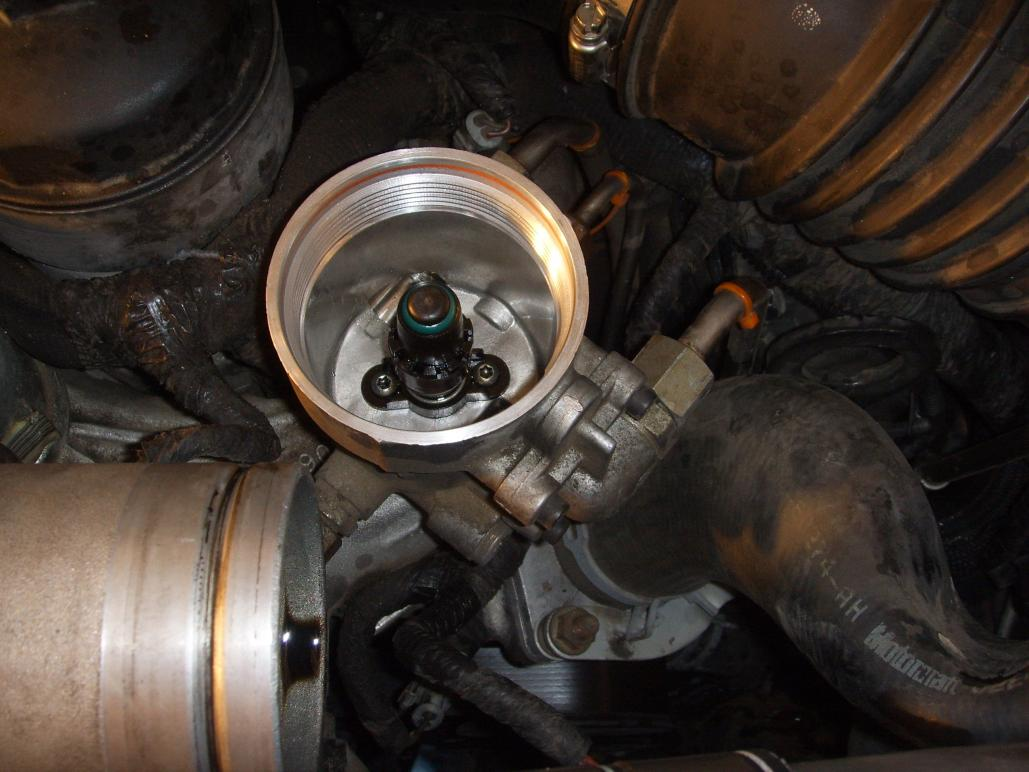 Installing The Blue Spring Kit In 60 Ford Powerstroke Diesel 2003 6 0 Fuel Filters Click Image For Larger Version Name Pic 5 Views 4244 Size