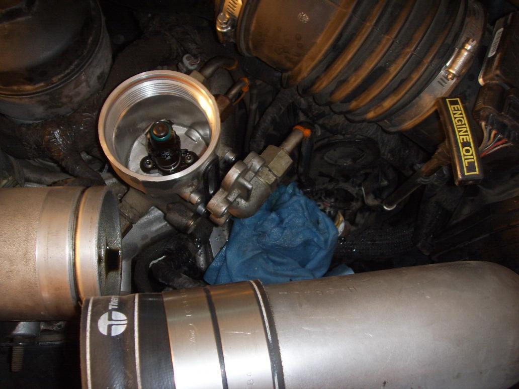 6 0 powerstroke fuel filter housing diagram 6 0 installing the blue spring kit in the 6 0 ford powerstroke on 6 0 powerstroke fuel filter
