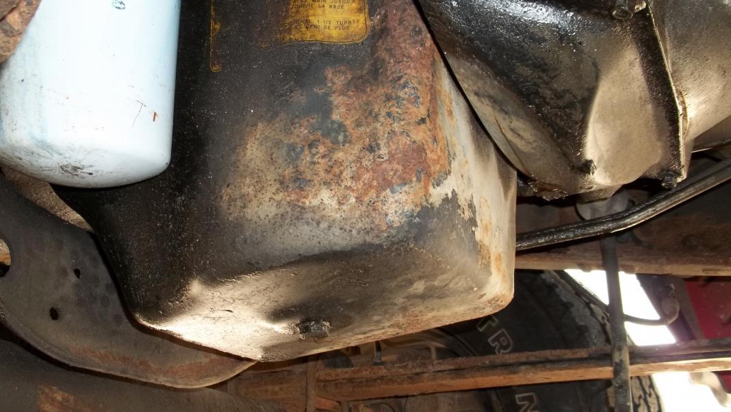 Rusty Oil Pan